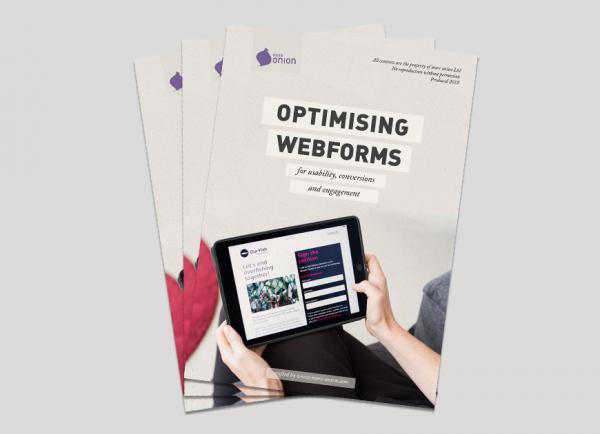 Optimising webforms